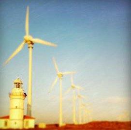Polente Feneri ve Rüzgar Gülleri
